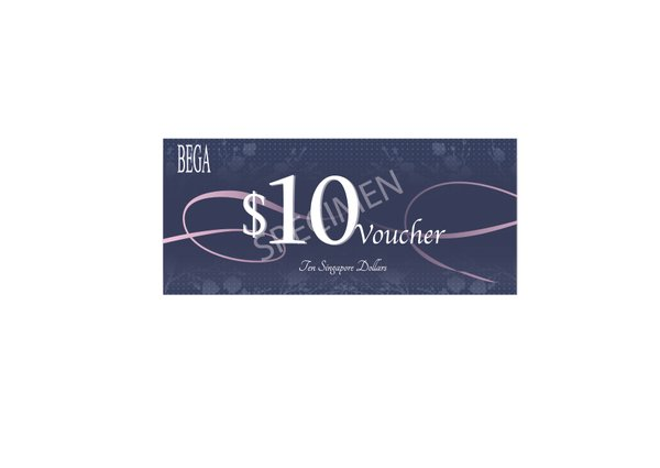 BEGA GIFT VOUCHER $10