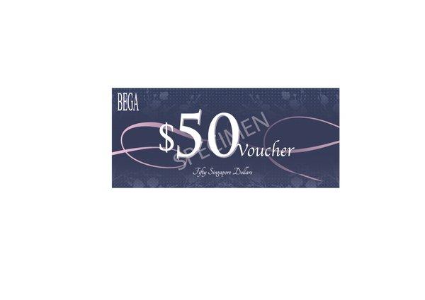 BEGA GIFT VOUCHER $50