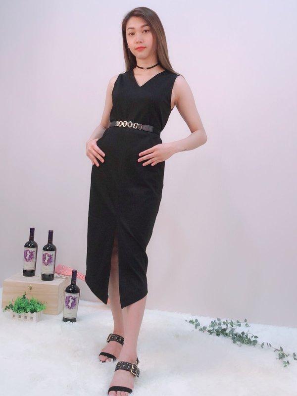 CLASSY MISSY DRESS (BLACK)
