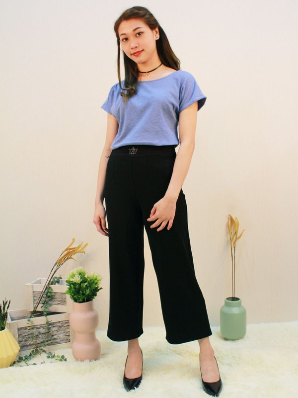 BASIC CUT SHIRT (LIGHT IRIS)
