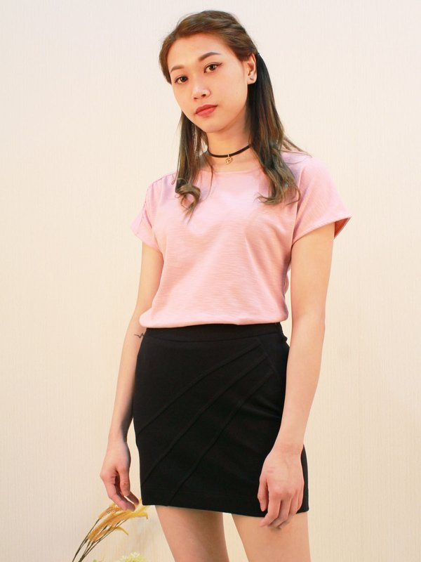 BASIC CUT SHIRT (PINK)