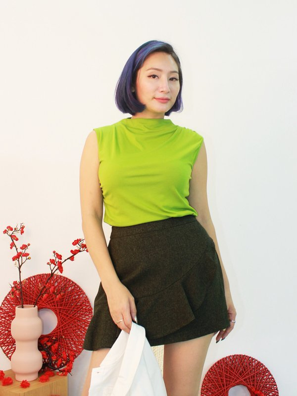 COLETTE BASIC TOP (PEAR)