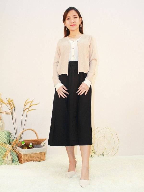 LONG SLEEVE KNIT TOP (COCO)