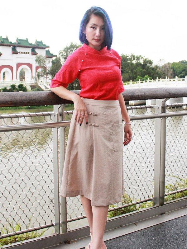 PARISH PEARL TOP(RED)