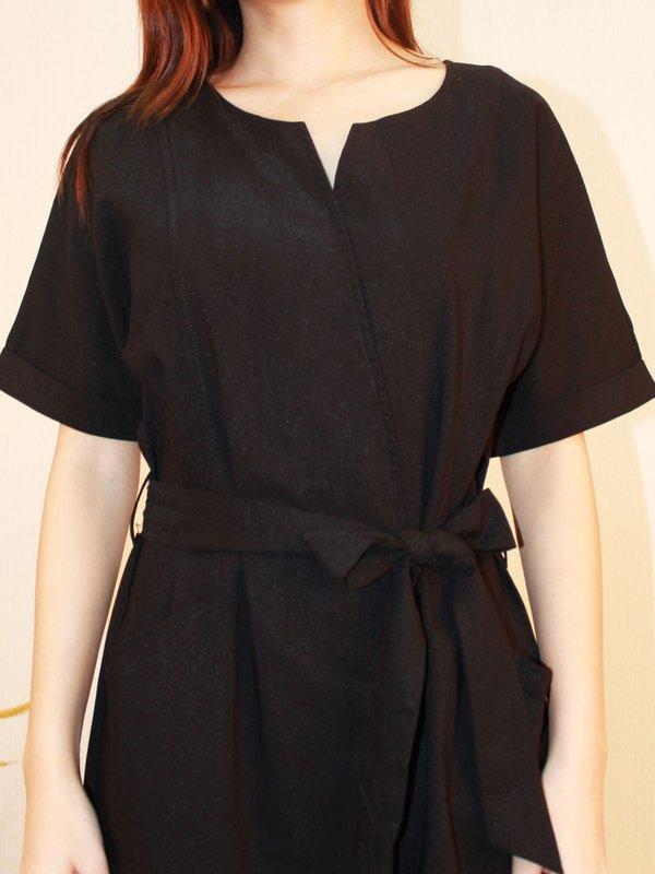 CASTIEL DRESS (BLACK)