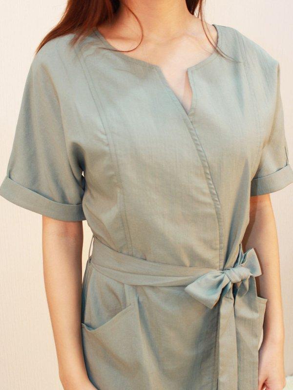 CASTIEL DRESS (PALE GREEN)