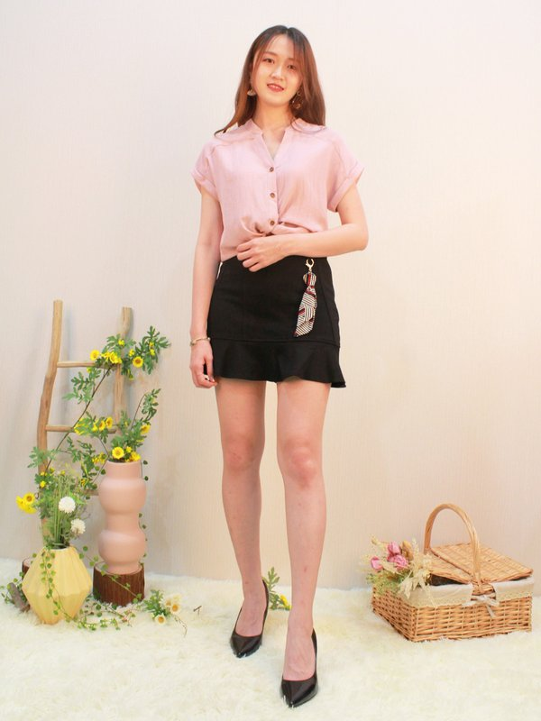 MULLOY SKIRT (BLACK)