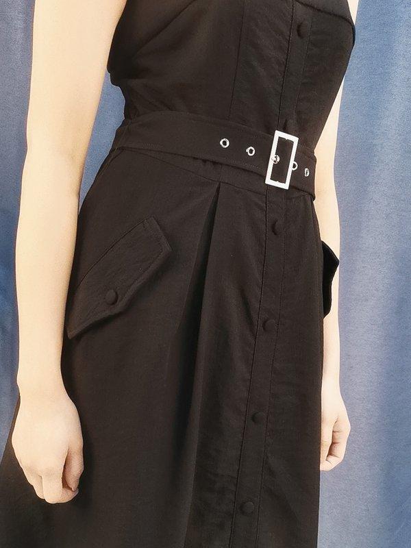 GRACIE DRESS (BLACK)