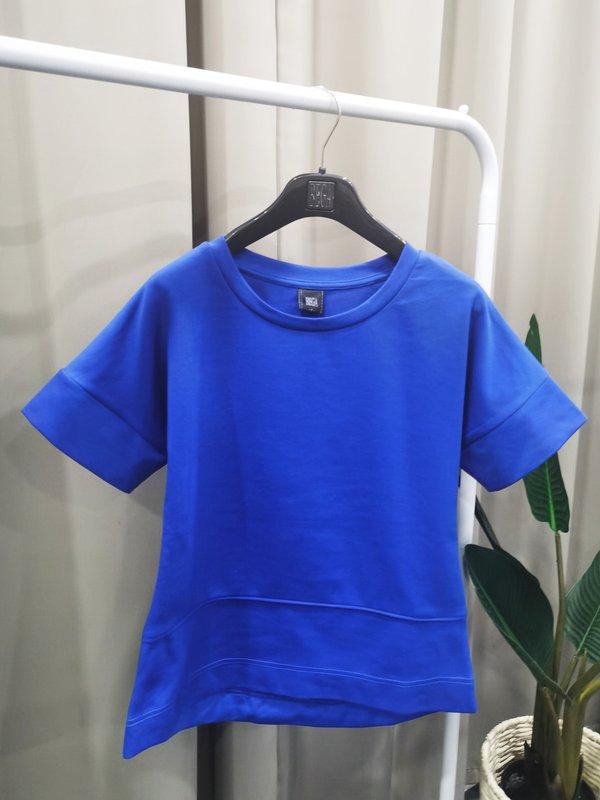 CRISTIANO SHORT SLEEVE SHIRT (COBALT BLUE)
