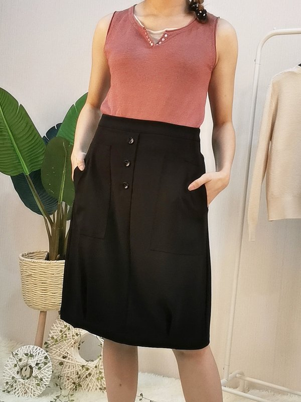 LACEY SKIRT (BLACK)