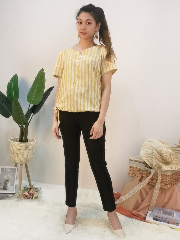 RESEE BUTTON BLOUSE (YELLOW)